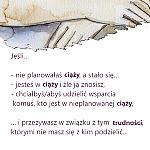 Ulotka Telefonu Zaufania i NETporadni dla osób w nieplanowanej ciąży oraz po aborcji