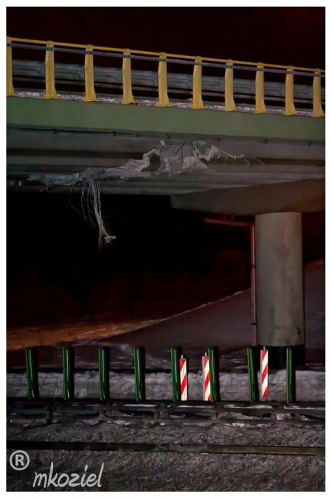 Awaria wiaduktu nad Obwodnicą Trójmiasta S-6