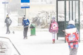 Śnieg w Gdyni