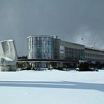 Oceanarium zimą