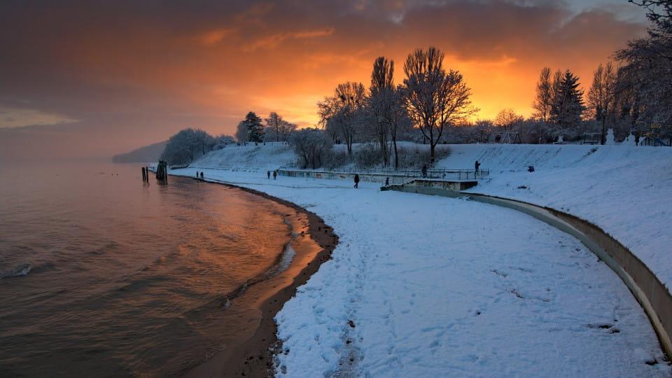 Zimą w Orłowie
