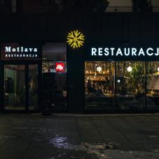 Restauracja z zewnątrz