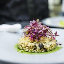 Wersja wegetariańska - risotto z grzybami