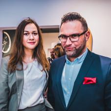 Robert Dombrowski i Monika Stawińska