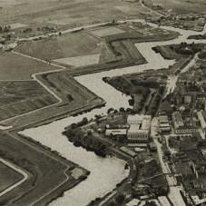 Gdańskie fortyfikacje i fragment Dolnego Miasta