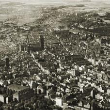 Panorama Gdańska od strony stoczni