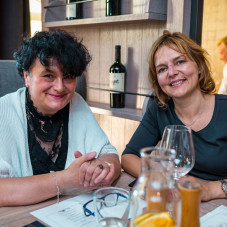 Alina Brownridge i Katarzyna Gebert
