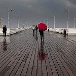 W deszczowy dzień, Sopot