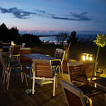 Widok z restauracji Winnica Nawrot