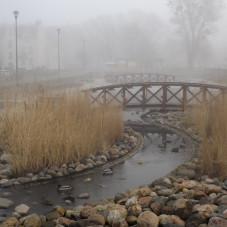 sopocka mgła w Karlikowie