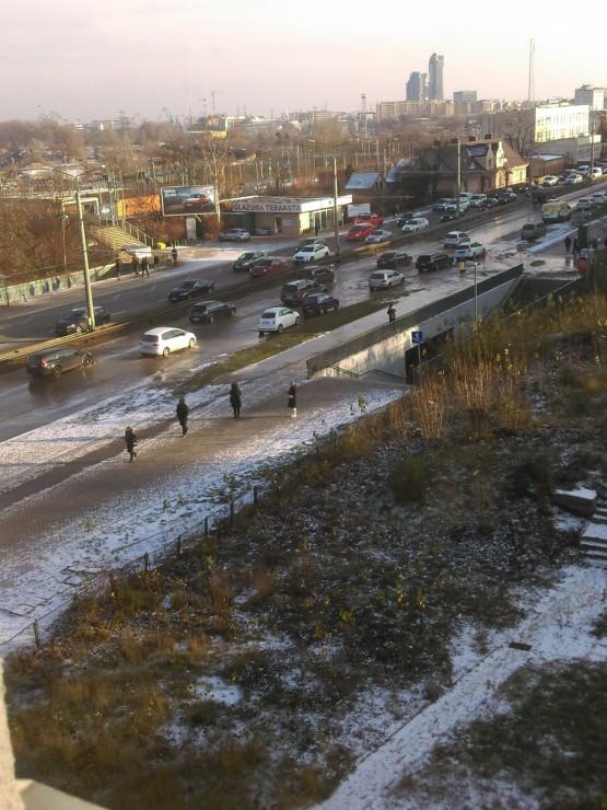 Gdynia Stocznia: zalany tunel i pas w stronę centrum