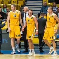 Adam Łapeta, Marcel Ponitka i Filip Dylewicz