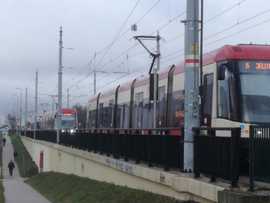 Korek tramwajowy na Chełmie