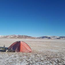 Mongolia Step styczeń 2018