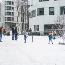 Zima w Gdyni