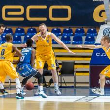 Adam Łapeta i Filip Dylewicz