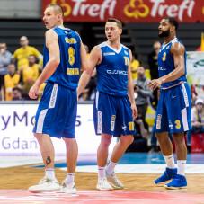 Filip Dylewicz, Marcel Ponitka i Joshua Bostic