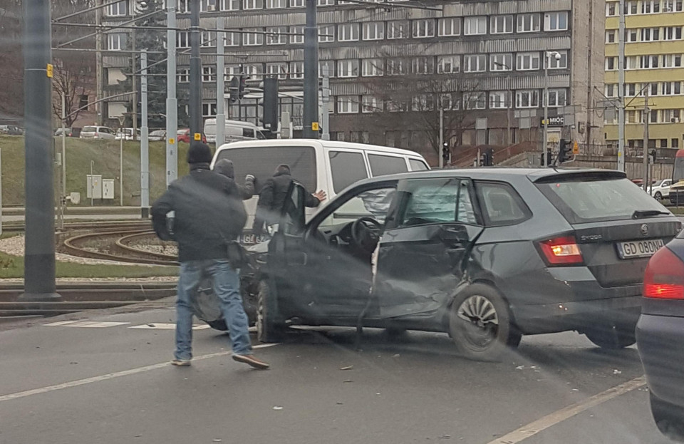 Wypadek przy Forum Gdańsk