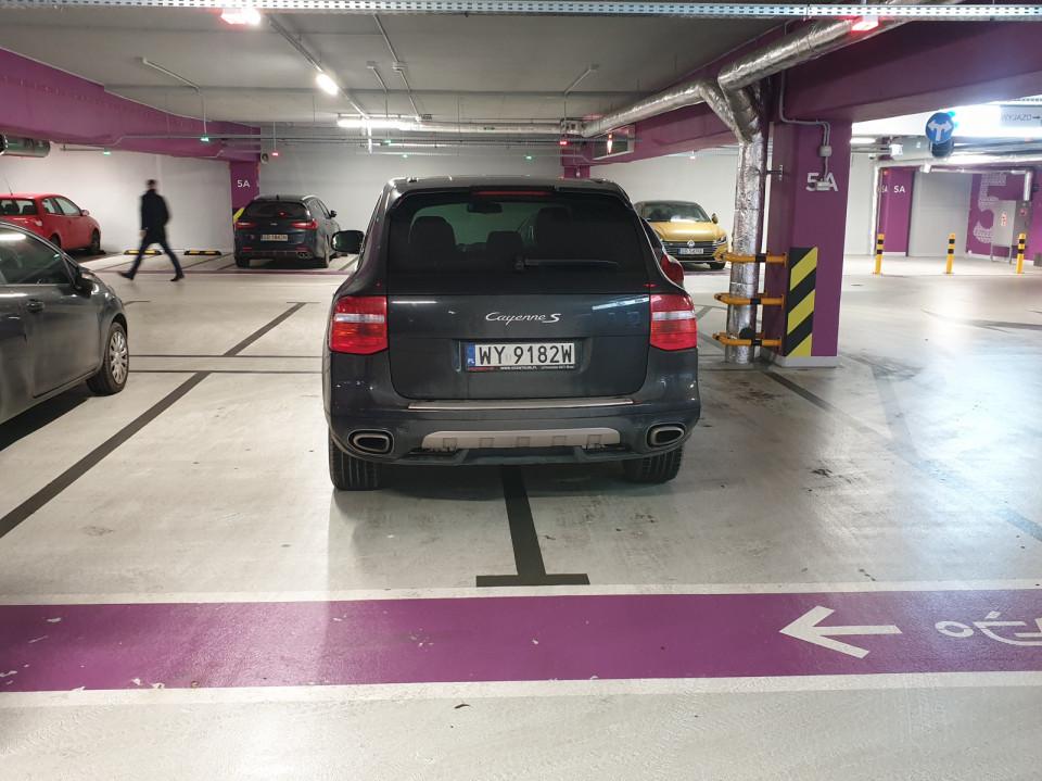 Winszuje umiejętności parkowania