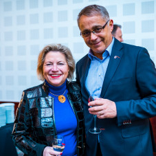 Cornelia Pieper  i Alain Mompert