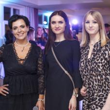 Prowadząca Paulina Marwińska (od lewej) i goście