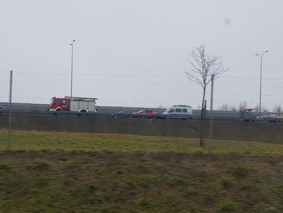 Śmiertelny wypadek na A1 w stronę Gdańska