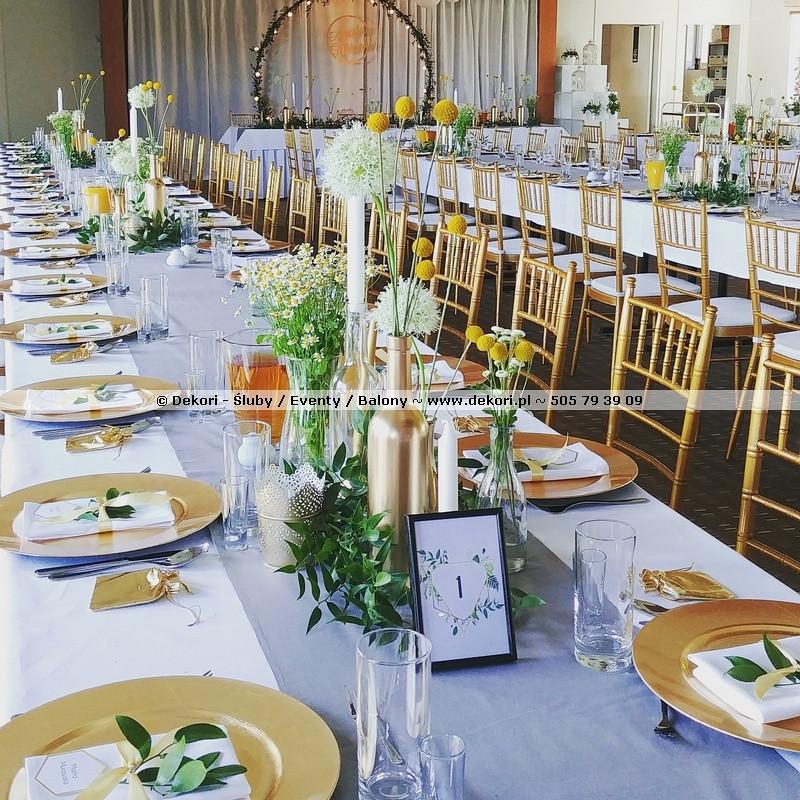 Dekori śluby Eventy Balony Gdynia