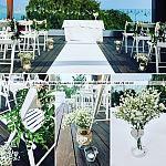 Ślub w plenerze w Gdyni ~ Dekoracje ślubów plenerowych Trójmiasto ~ Organizacja ślubu Gdańsk