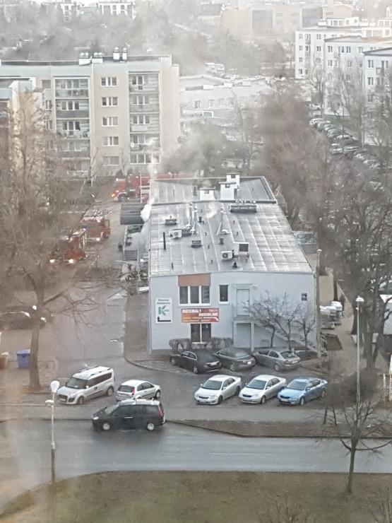 Pożar przy ul. Gospody