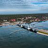 Wyspa Sobieszewska - Most 100-lecia Niepodległości