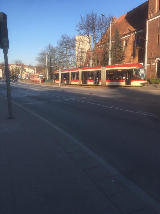 Awaria tramwaju za pętlą Siedlce
