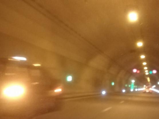 Utrudnienia w tunelu w stronę Stogów
