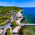 Majowa Gdynia z powietrza