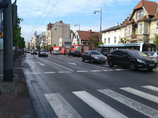 Sopot. Korki w kierunku Gdyni