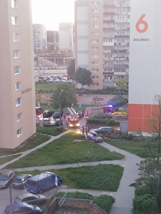 Pożar w windzie na Morenie