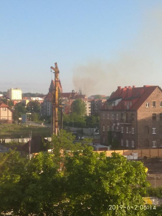 Pożar kościóła Piotra i Pawła na Żabim Kruku