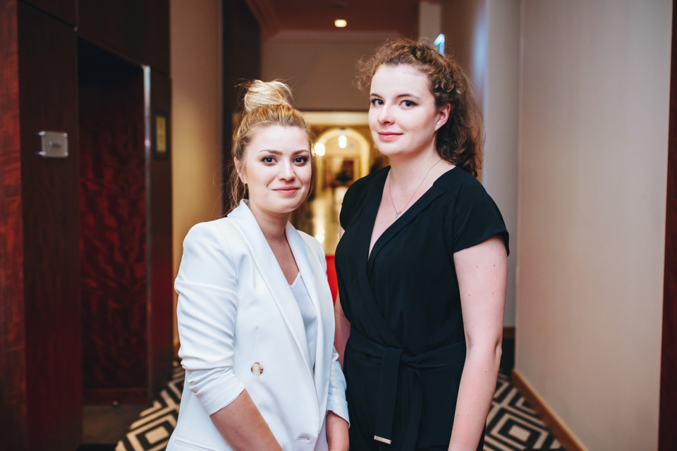 Agnieszka Czaja i Maja Konowalska