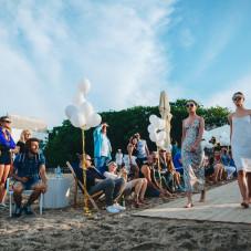 Pokaz Mody na plaży