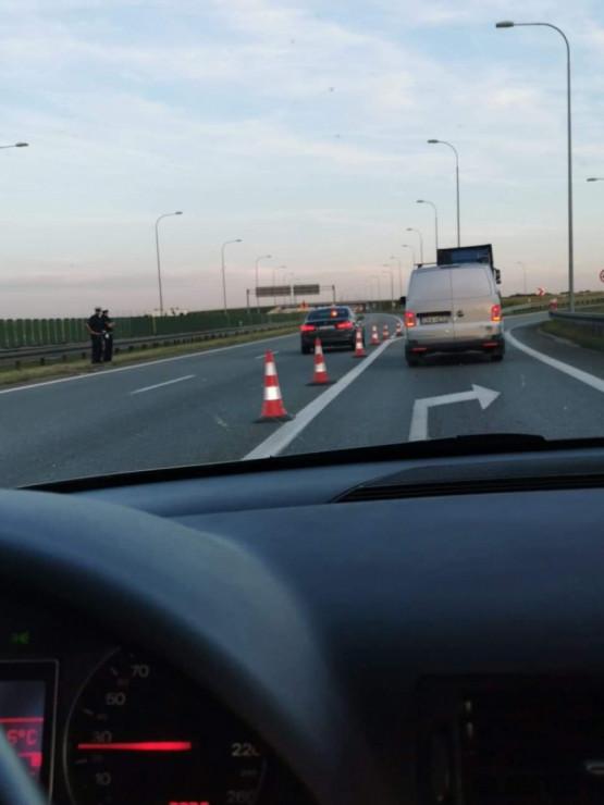 Korek w stronę A1 do Straszyna