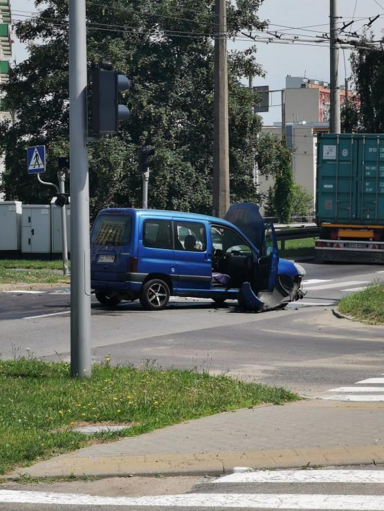 Wypadek przy ul. Morskiej