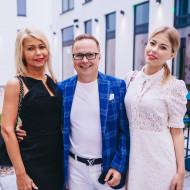 Zbigniew Nowak z żoną i córką
