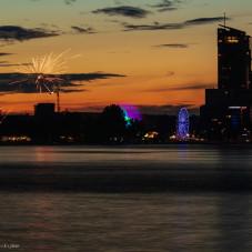 Gdynia wieczorem 7 lipca