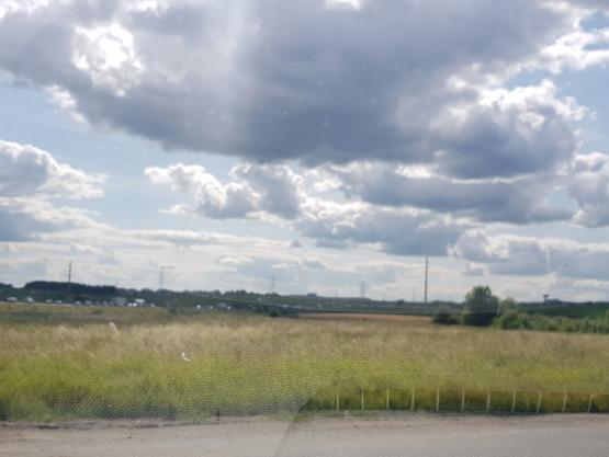 Obwodnica południową w stronę Gdyni stoi