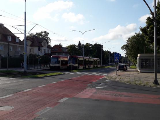 Nie jeżdżą tramwaje w stronę Oliwy