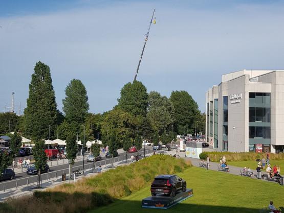 Wypadek przy skwerze Kościuszki w Gdyni