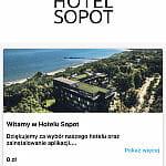 Menu Hotelu Sopot oraz oferta śniadaniowa w aplikacji ExtraInHotel & ExtraInVisit