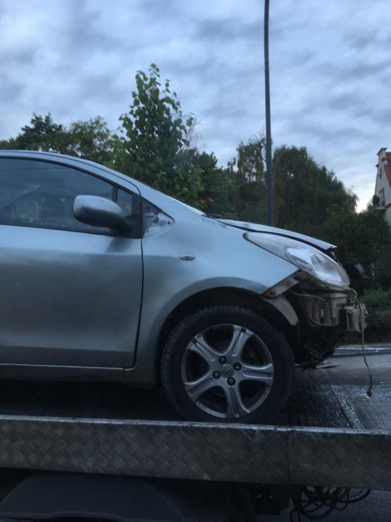 Usunięto auto z tunelu pod Monciakiem