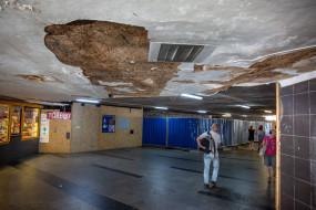 Trwa remont tunelu łączącego dworzec Gdańsk Główny z dworcem PKS