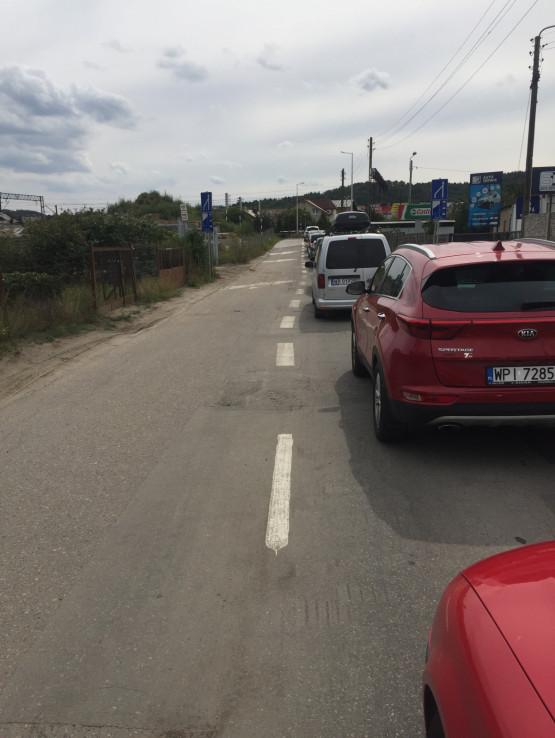 Przejazd kolejowy na Piaskowej zamnięty od godziny