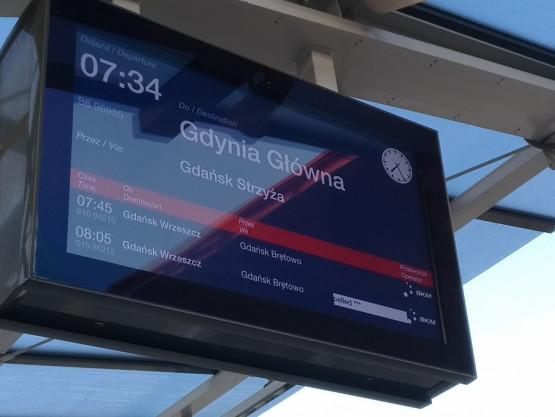 Odwołany pociąg PKM